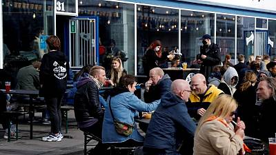 Danes ditch masks, allow more Euro 2020 fans in lockdown deal