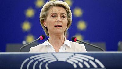 EU chiefs to press UK's Johnson to adhere to N.Ireland protocol