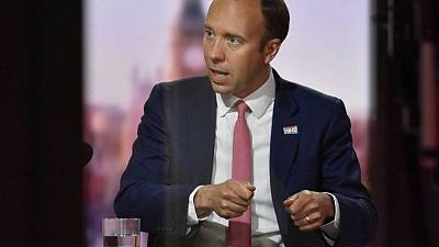 UK health minister rejects allegations over COVID-19 failures made by former PM aide