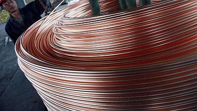 Producción cobre de China tiene caída intermensual: Antaike