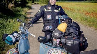 Autista bus Cofferati replica il viaggio del '64 di Patrignani