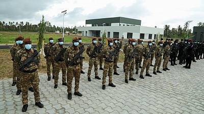 Ivory Coast opens counter-terrorism academy in partnership with France