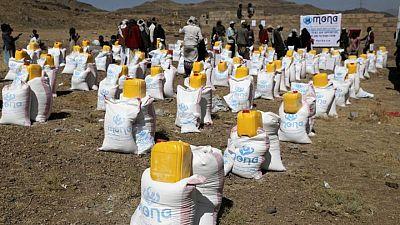 المساعدات الغذائية إلى اليمن في تزايد مع استمرار أزمة التمويل