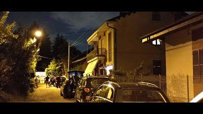 A Castiglione. Sul posto i carabinieri