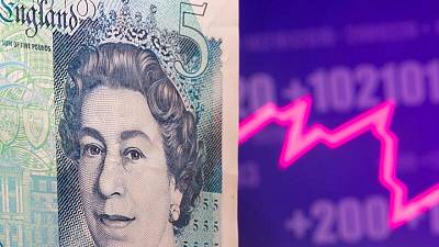 Sterling edges lower after record GDP fails to impress