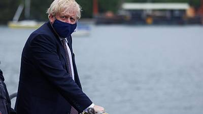 UK PM Johnson offers Tokyo Olympics some big power support