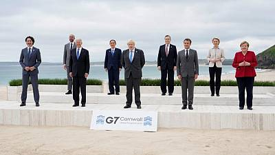 G7 leaders agreed to keep stimulus flowing for their economies