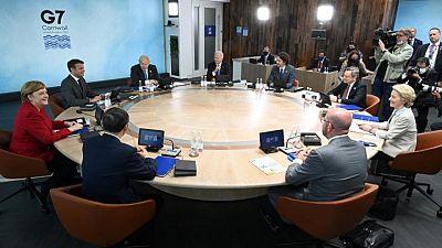 Lo que puedan hacer: G7 rivaliza con China con gran plan de infraestructuras