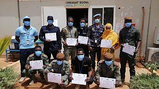Risques explosifs : à Gao, la Police des Nations Unies forme des éléments des Forces de Sécurité du Mali