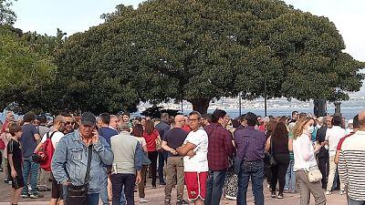 'No paura day' con circa 300 persone senza mascherina