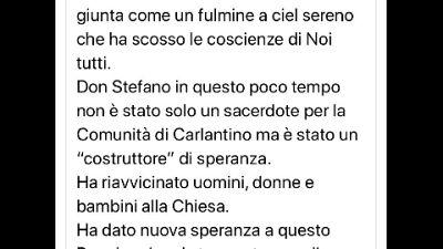 La protesta del primo cittadino di Carlantino, nel Foggiano