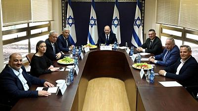 Explainer-Who's who in Israel's new patchwork coalition government