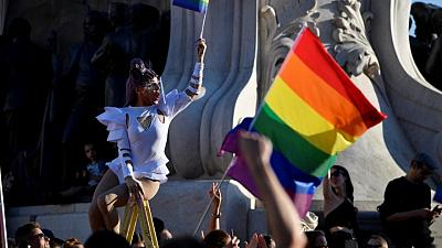 Hungarians protest against PM Orban's LGBTQ rights crackdown