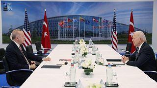 إردوغان: أبلغت بايدن بأن تركيا لن تتخلى عن منظومة صواريخ إس-400 الروسية