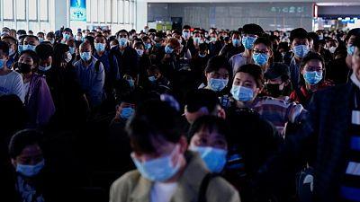 الصين تسجل 20 إصابة جديدة بفيروس كورونا مقابل 23 قبل يوم