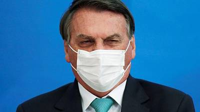 Brazil's Bolsonaro asks Pfizer to speed up COVID vaccine delivery