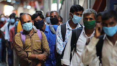 وزارة الصحة: الهند تسجل 37566 إصابة جديدة بكورونا و907 وفيات