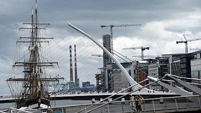 Ireland's goods imports from Britain drop 20% in April
