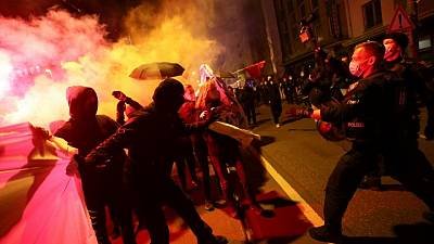 Anti-lockdown protests boost Germany's far-right, says security agency