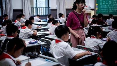 China's education ministry sets up office to oversee after-school tutoring
