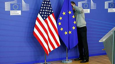 La UE y EEUU alcanzan una tregua en su histórica batalla aeronáutica
