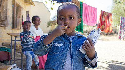 Éthiopie : les cas de malnutrition aiguë sévère multipliés par quatre chez les enfants du Tigré (UNICEF)