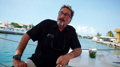 McAfee tells extradition hearing he faces politically-motivated charges