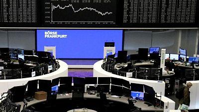 الأسهم الأوروبية تغلق على ارتفاع طفيف بينما تنتظر السوق اجتماع المركزي الأمريكي
