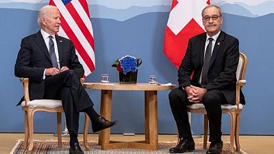 بعد محادثات مع بايدن.. سويسرا تشيد بالنهج الأمريكي البناء تجاه إيران