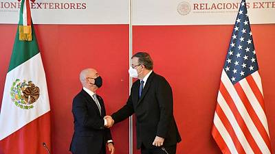 Mexico foreign minister, US homeland security chief discuss trade, travel