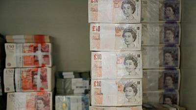 Sterling firms after inflation's surprise surge