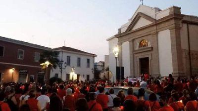 Doppia fiaccolata in Sardegna e Liguria in ricordo della vittima