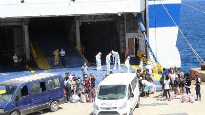 Sono arrivati a Lampedusa dal Bangladesh