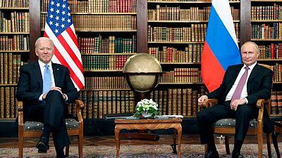 بوتين يأمل أن يكون اجتماعه مع بايدن مثمرا