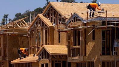 ارتفاع أقل من المتوقع لبناء المنازل في الولايات المتحدة في مايو