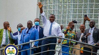 Sierra Leone's President Julius Maada Bio Congratulates Leone Stars, Urges Sierra Leoneans to Dream Big
