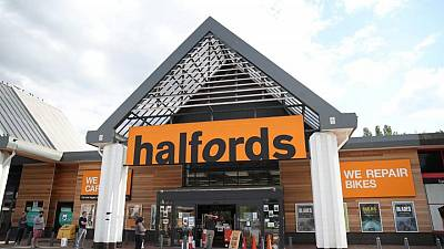 Halfords reinstates dividend, posts higher profit as cycling boom pedals on