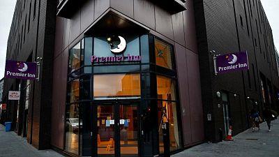 Premier Inn-owner Whitbread sees leisure demand pick up