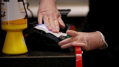 UK card spending last week at 95% of pre-pandemic level: ONS