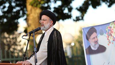 Close Khamenei loyalist sanctioned by U.S. set to win Iran vote