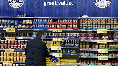 Tesco's UK sales growth slows in latest quarter