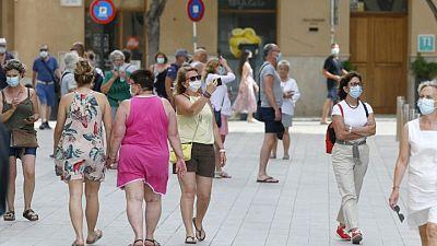 España eliminará la obligación del uso de mascarillas al aire libre a partir del 26 de junio
