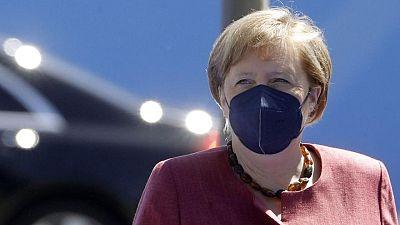 Germany's Merkel to meet U.S. Secretary of State in Berlin