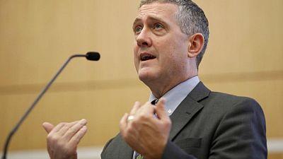 """Postura """"agresiva"""" de la Fed es respuesta natural a inflación y crecimiento más fuertes, según Bullard"""