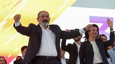 Election in Armenia, meant to end political crisis, is too close to call
