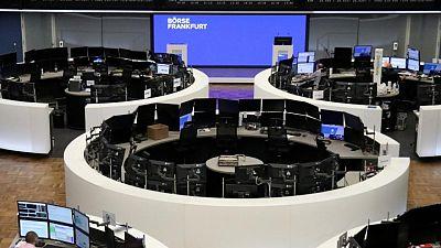 European shares slide as Fed's hawkish tone hits miners, bank stocks