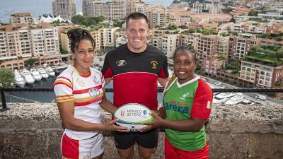 Sending warm wishes of good luck to all African teams competing at the World Rugby Sevens this weekend!