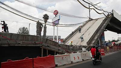 Mexico City mayor to construction firms: Pay up for collapsed metro line