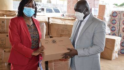 WHO Demonstrates Commitment in supporting COVID-19 Response and Ebola Virus Disease (EVD) Preparedness in Liberia