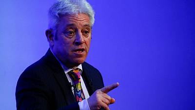 Former British parliament speaker Bercow joins opposition Labour Party